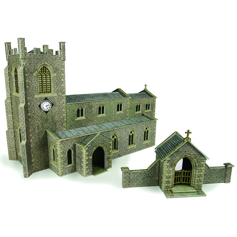 Metcalfe Parish Church Kit PO226 at AJMRailways com
