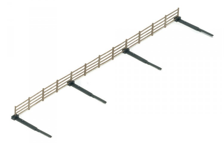 Hornby R537 Trackside Fencing Pack of 6